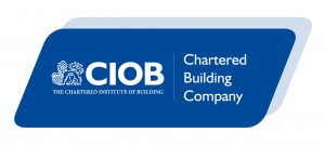 New CIOB - Chartered Building Company Logo